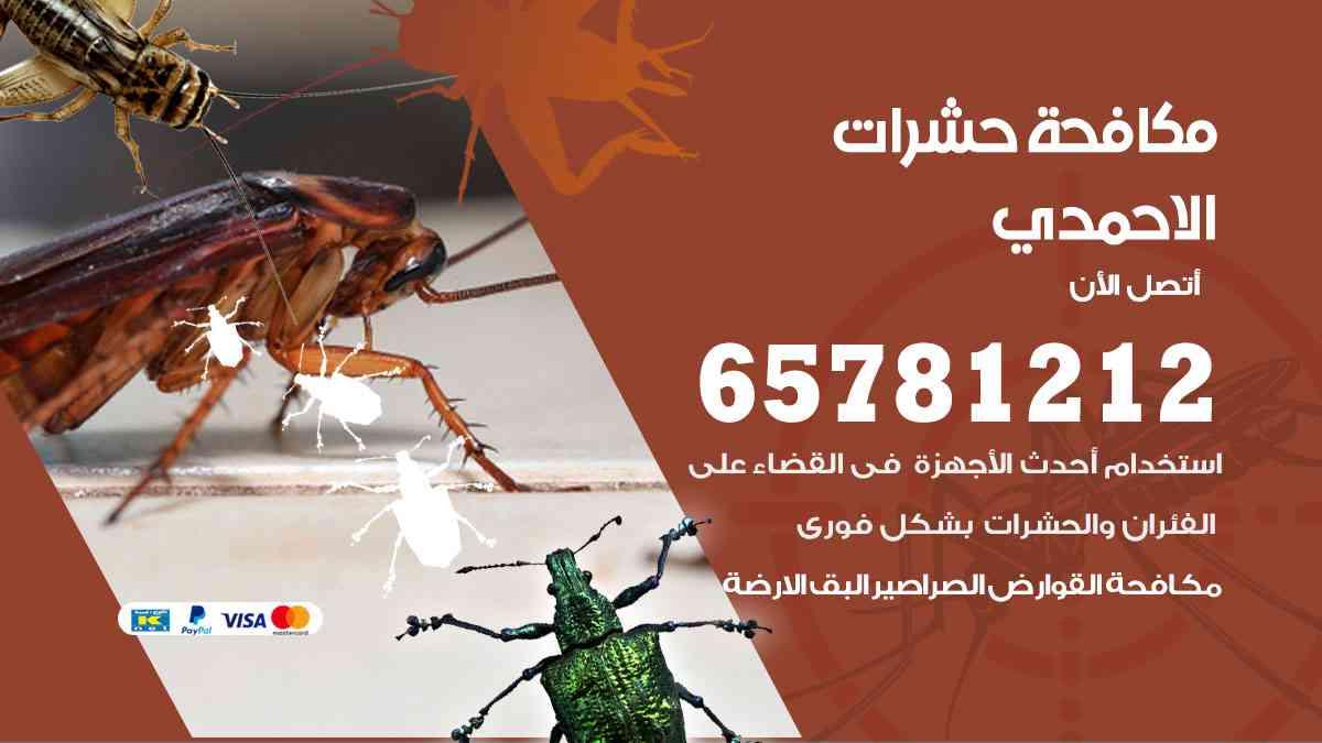 شركات مكافحة حشرات الاحمدي