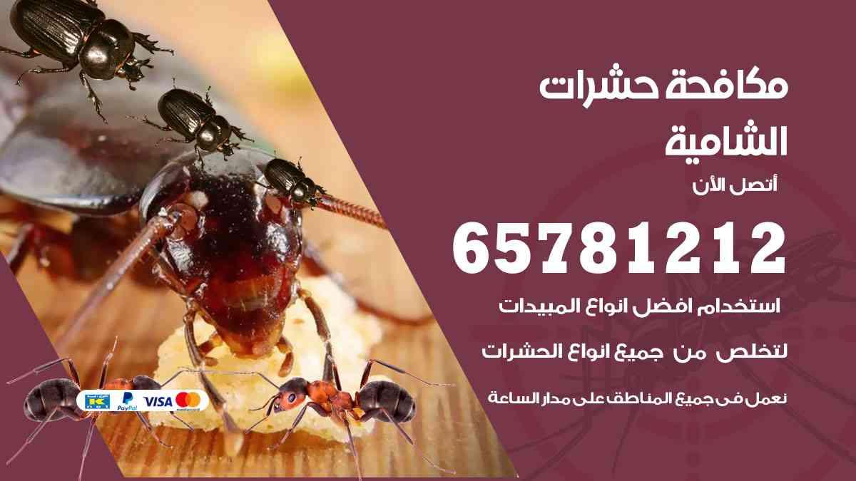 شركات مكافحة حشرات الشامية