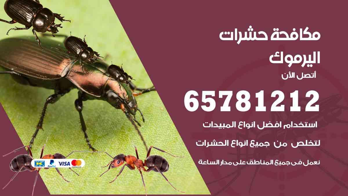 شركات مكافحة حشرات اليرموك