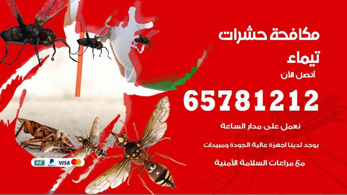 شركات مكافحة حشرات تيماء