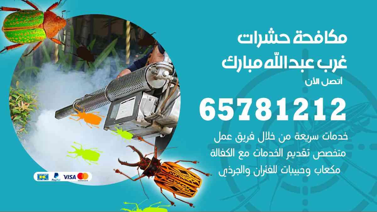 شركات مكافحة حشرات غرب عبدالله مبارك