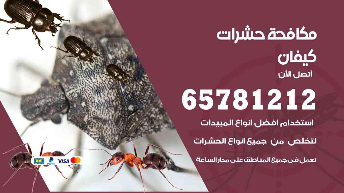 شركات مكافحة حشرات كيفان